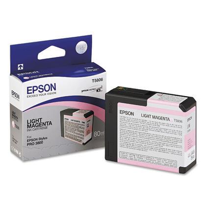 Epson T580600 Cartouche D'encre Original Magenta Clair Pour Stylus 3800