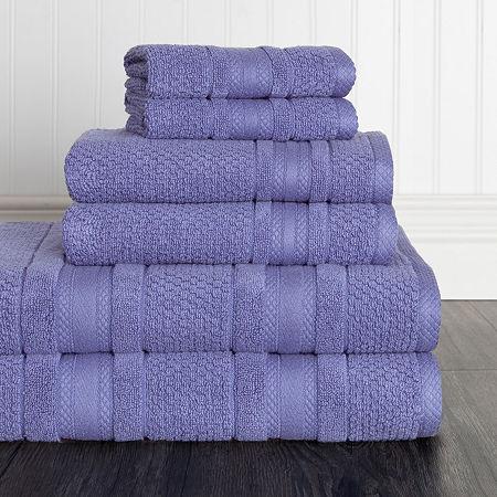 American Dawn Grace 6 Pc 6-pc. Bath Towel Set, One Size , Blue