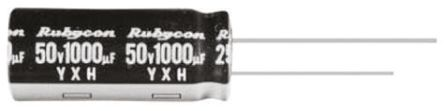 Rubycon 1200μF Electrolytic Capacitor 6.3V dc, Through Hole - 6.3YXH1200MEFC10X16 (10)