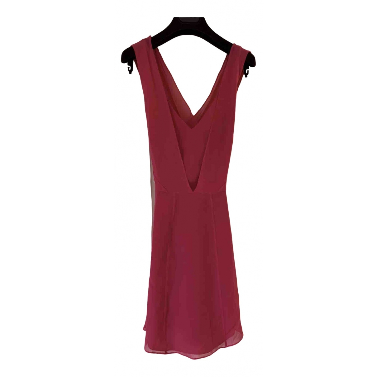 Reiss \N Pink Silk dress for Women 10 UK