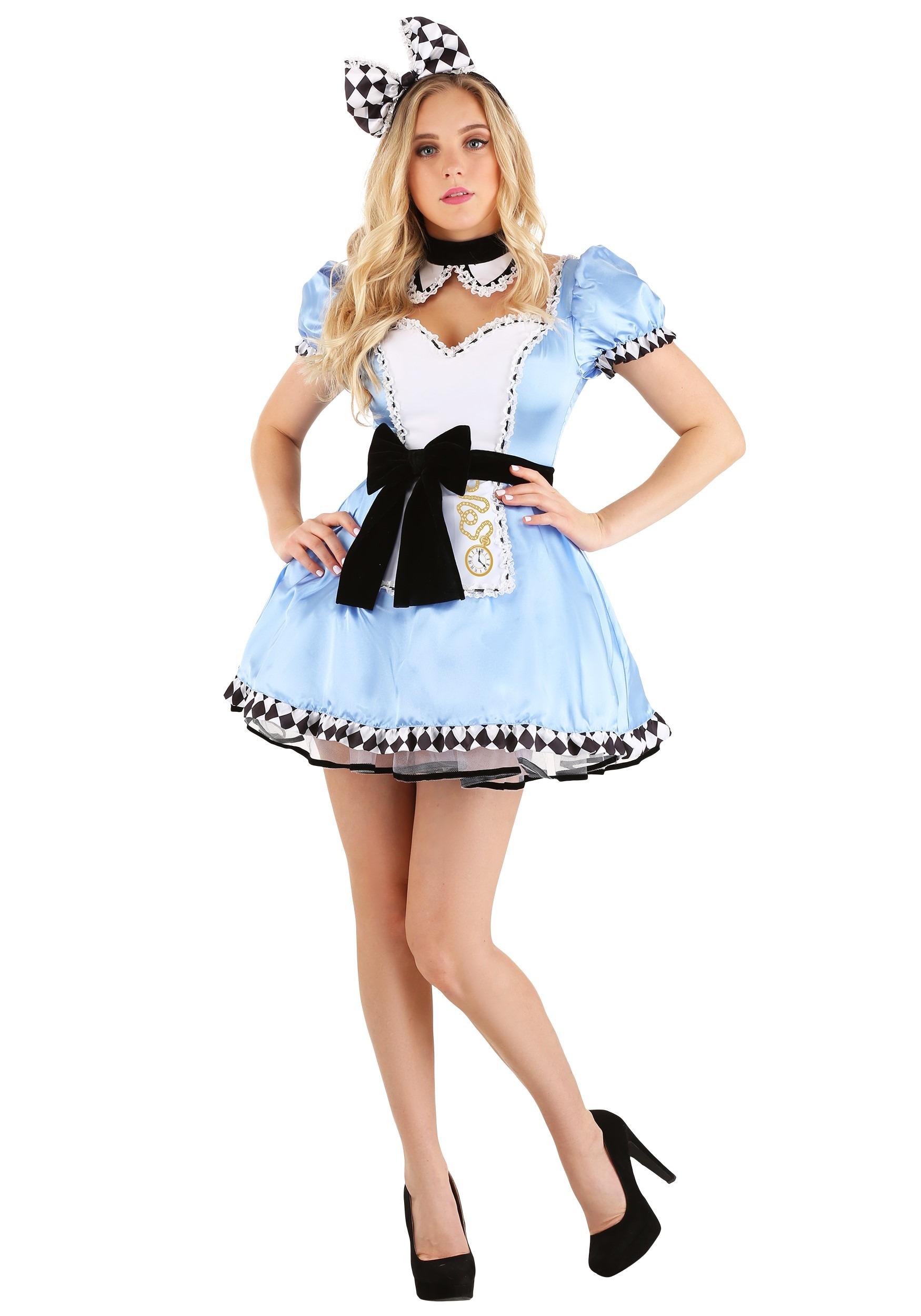 Alluring Alice Women's Costume