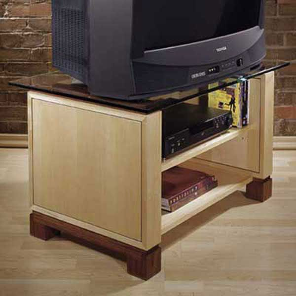 Woodworking Project Paper Plan to Build Television Stand