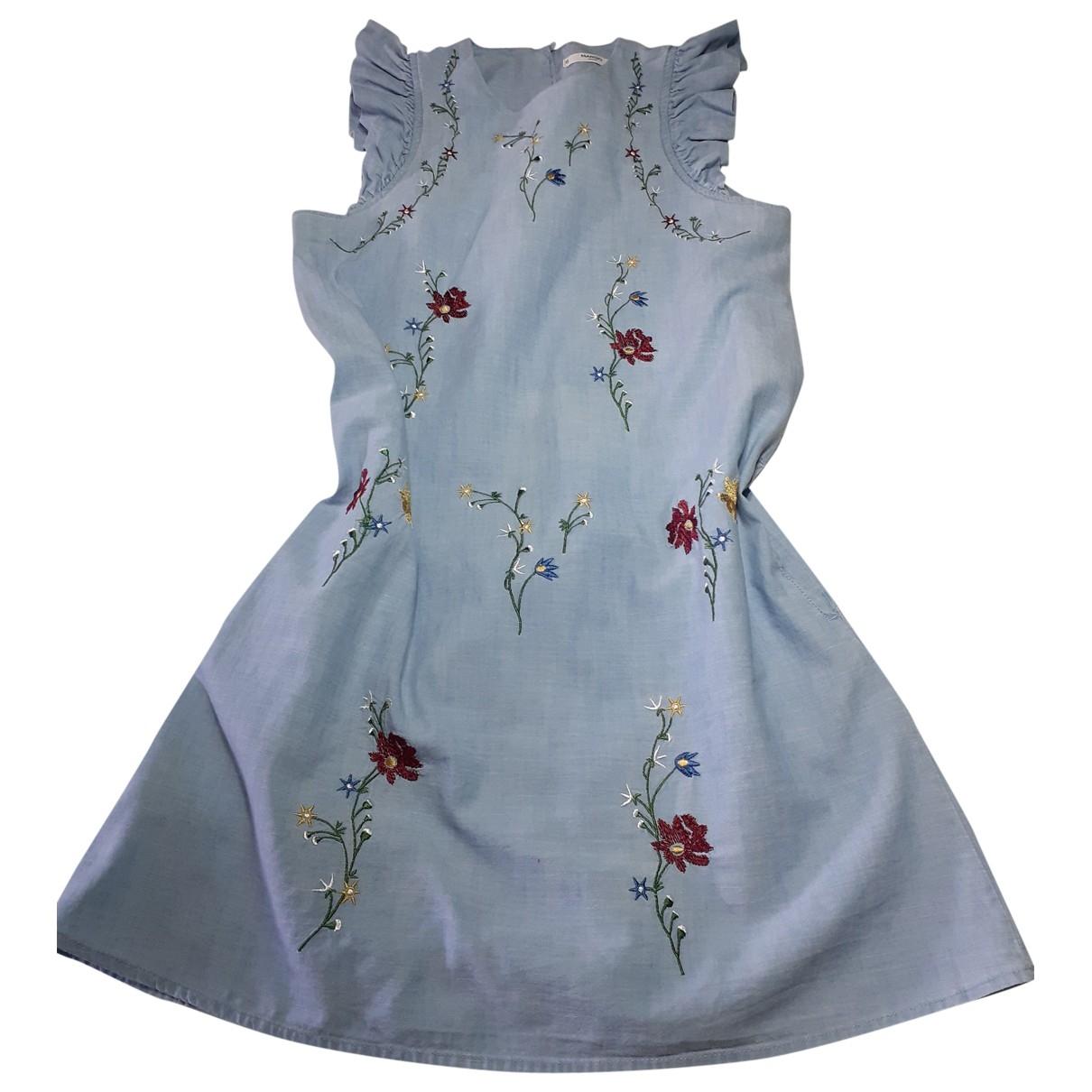 Mango \N Blue Cotton dress for Women S International