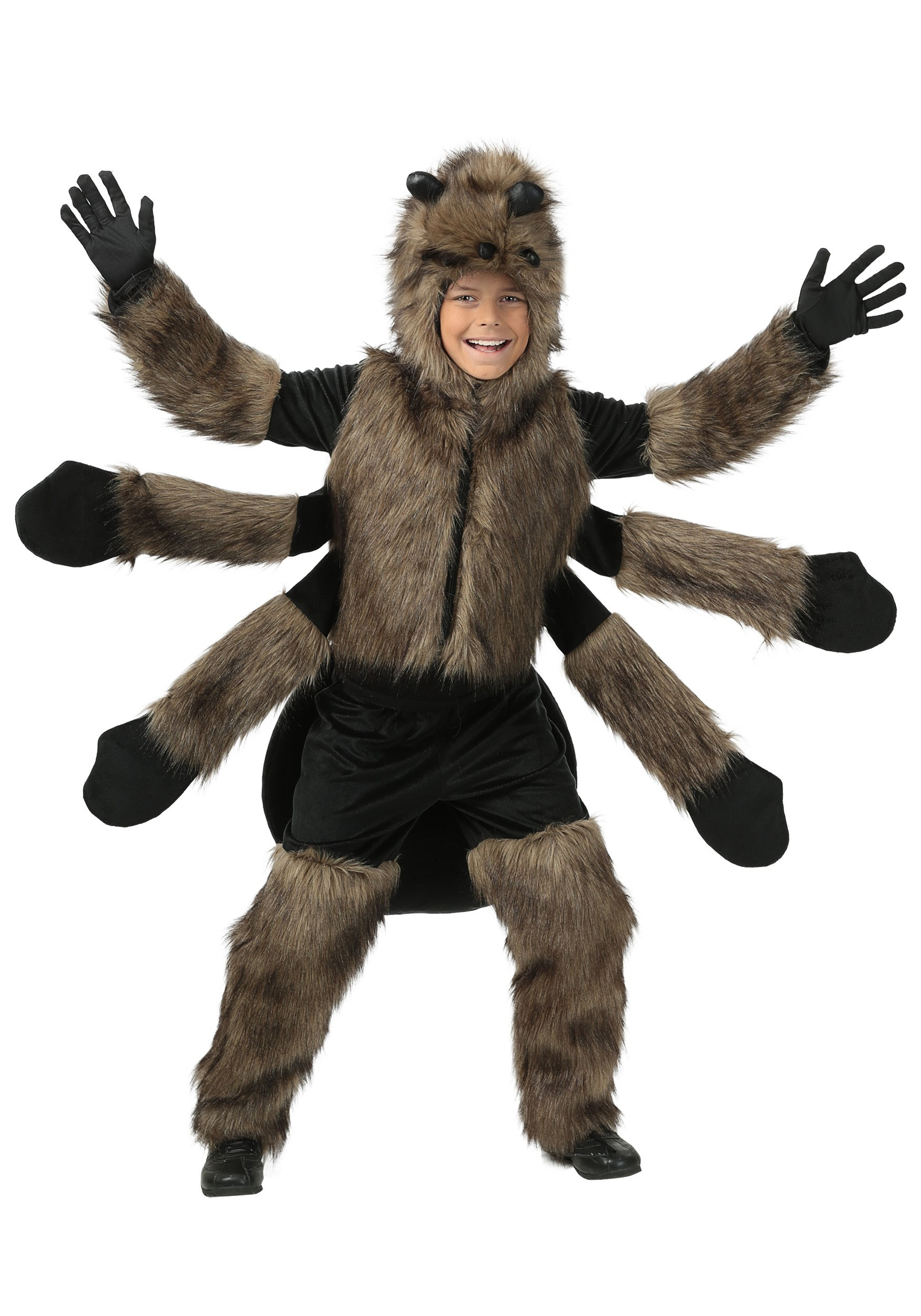 Furry Spider Costume for Kids