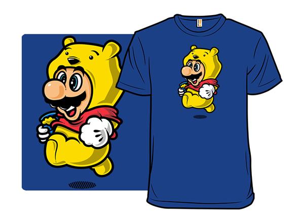 Super Bear Jump T Shirt