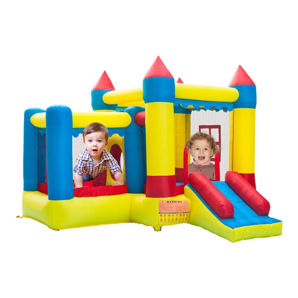 Inflatable Bounce House Castle Ball Pit Jumper Kids Play Castle 3.2*3*2.5m 420D Thick Oxford Cloth