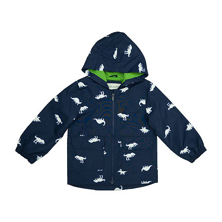 Carter's Baby Boys Hooded Lightweight Raincoat, 12 Months , Blue
