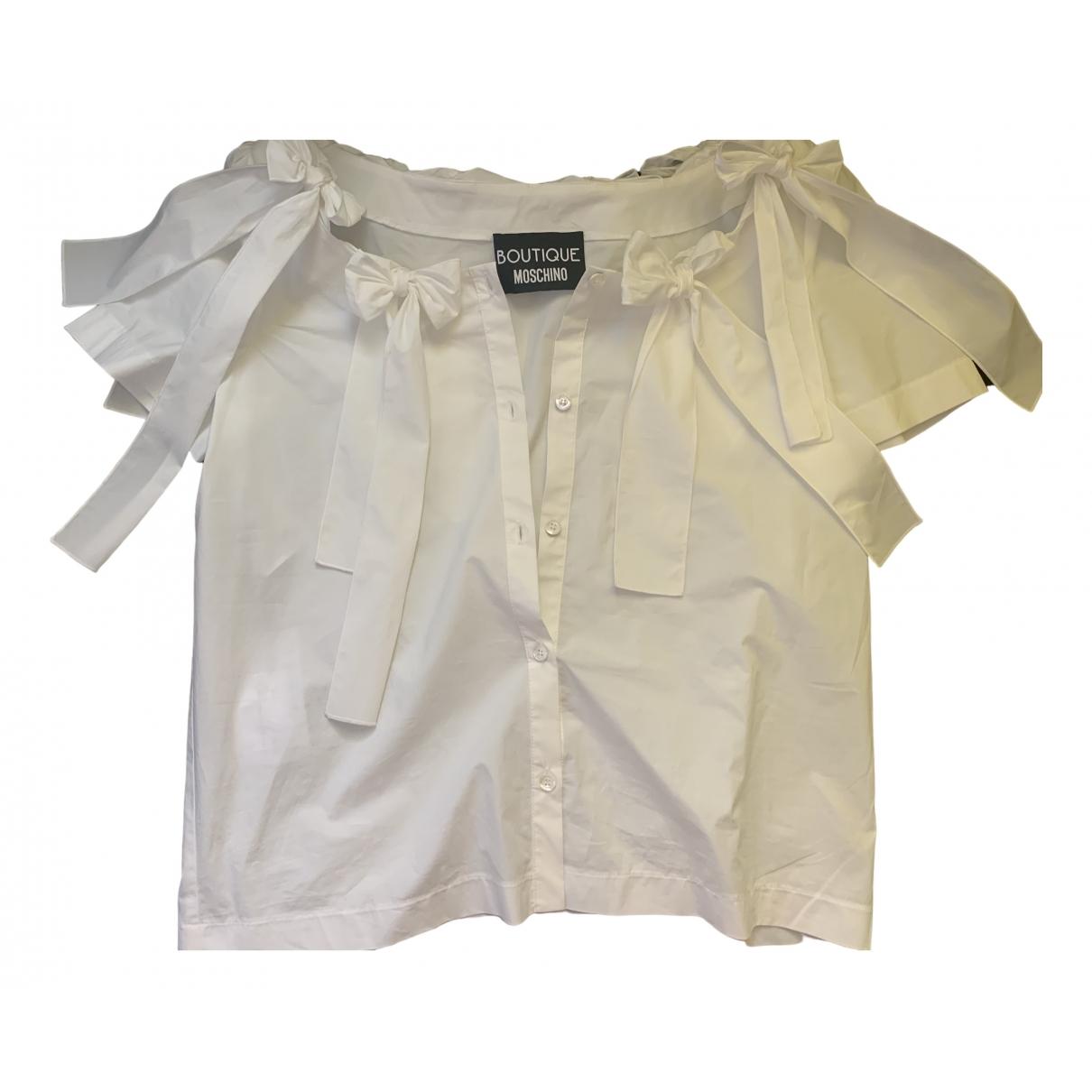 Moschino \N White Cotton  top for Women M International
