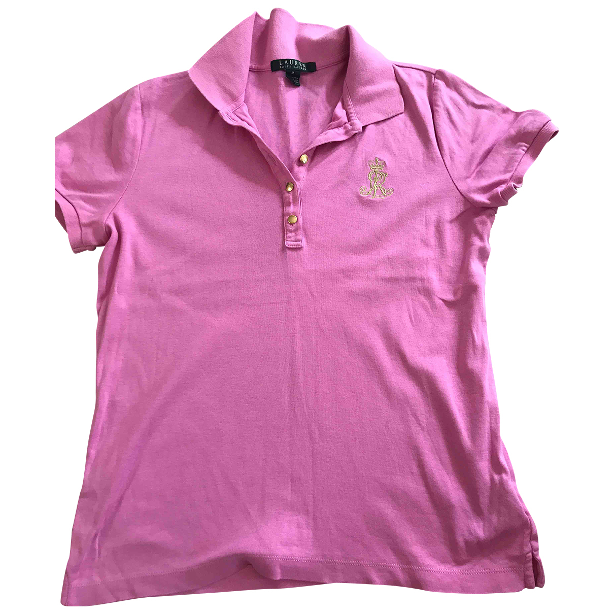 Lauren Ralph Lauren \N Pink Cotton  top for Women 10 UK