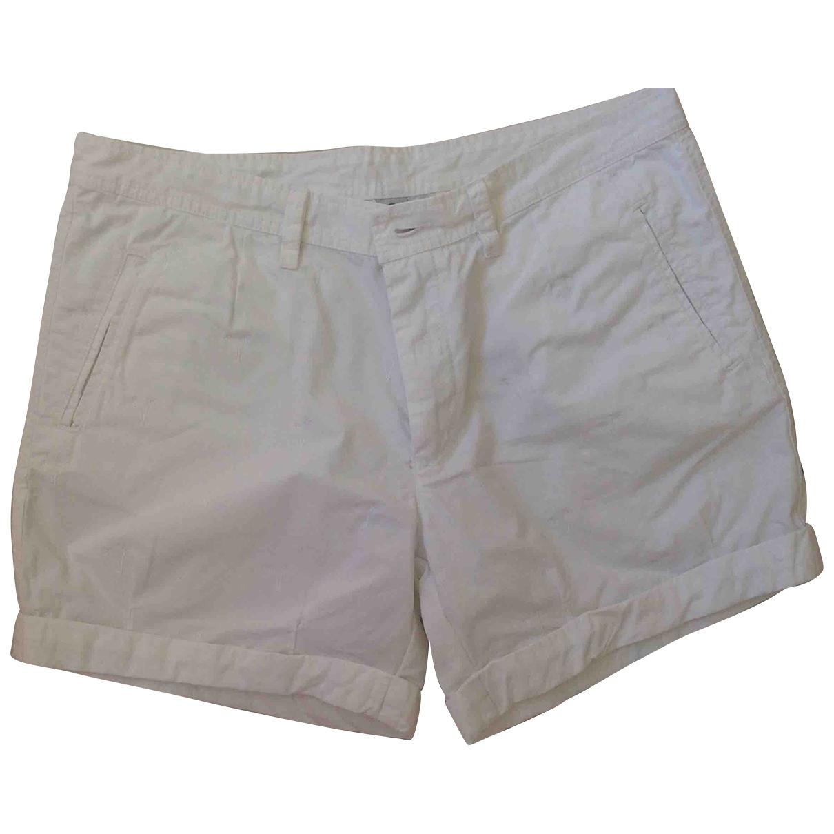 Bogner \N White Cotton Shorts for Women 10 US