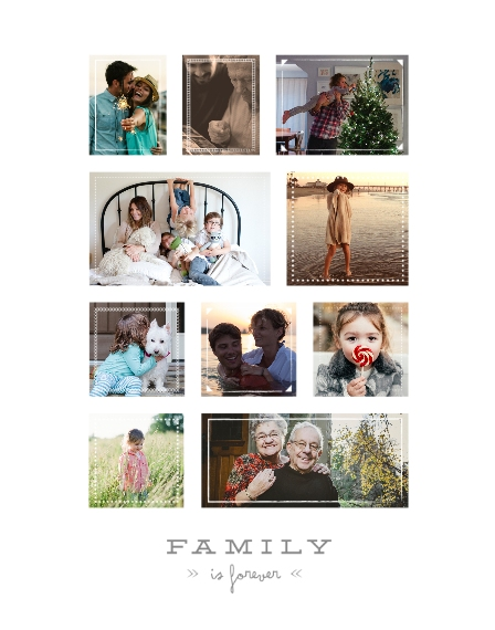 Family + Friends 11x14 Poster, Home Décor -Forever Family