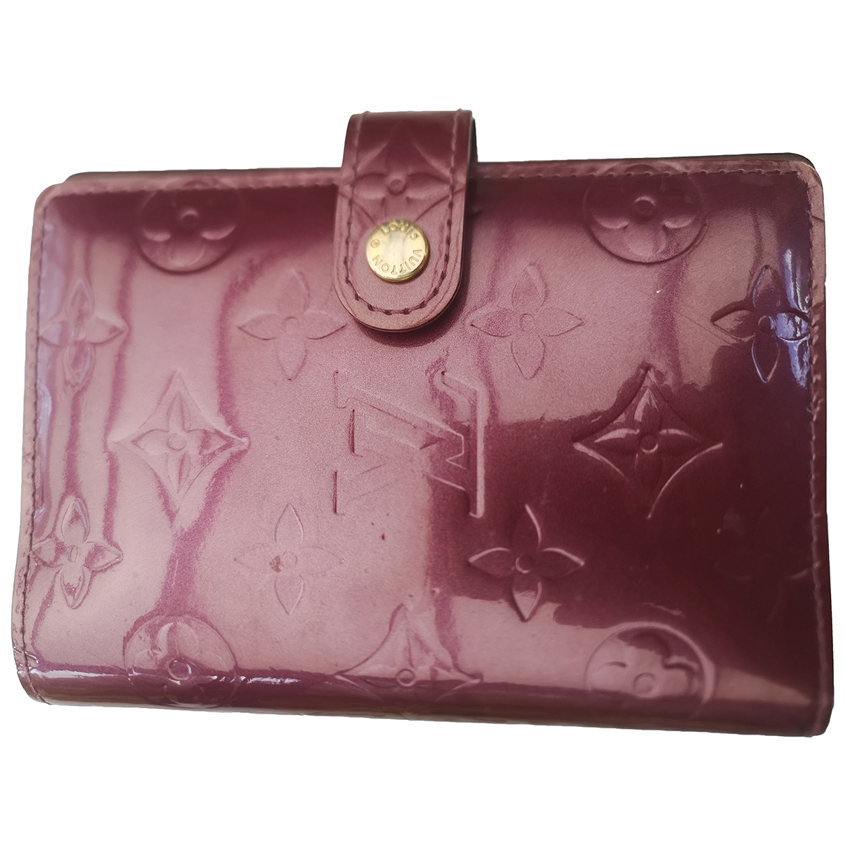 Louis Vuitton \N Burgundy Leather Home decor for Life & Living \N