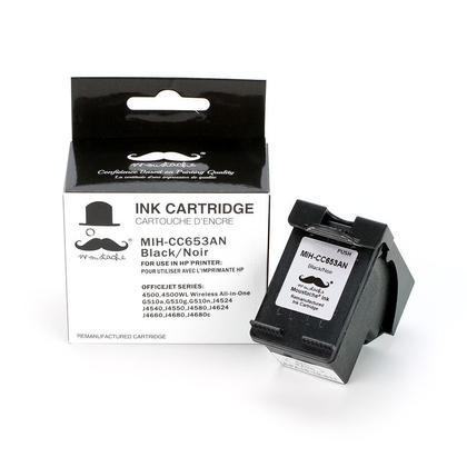 Compatible HP OfficeJet J4580 cartouche d'encre noire de marque Moustache