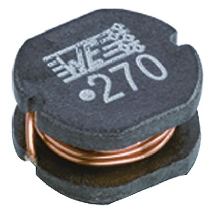 Wurth Elektronik Wurth, WE-PD2, 7850 Shielded Wire-wound SMD Inductor with a Composite Iron Powder Core, 6.8 μH ±20% Self-Centering