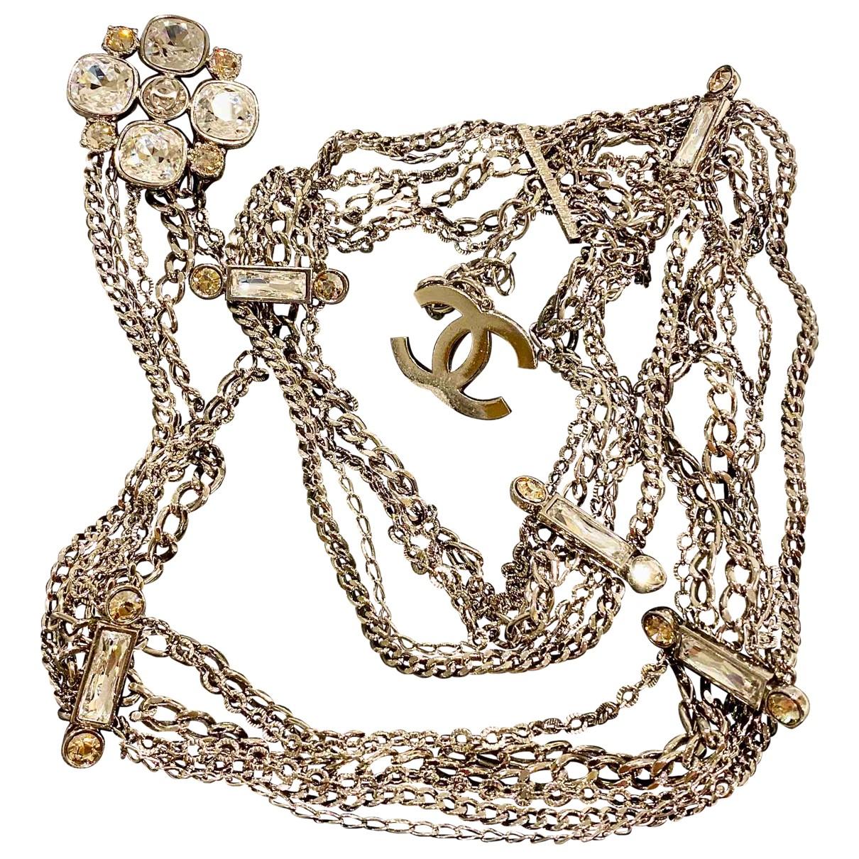 Chanel \N Silver Chain belt for Women M International