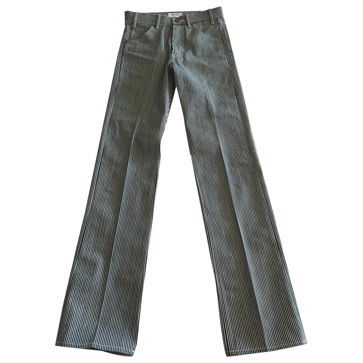 Celine \N Blue Cotton Jeans for Men 28 US