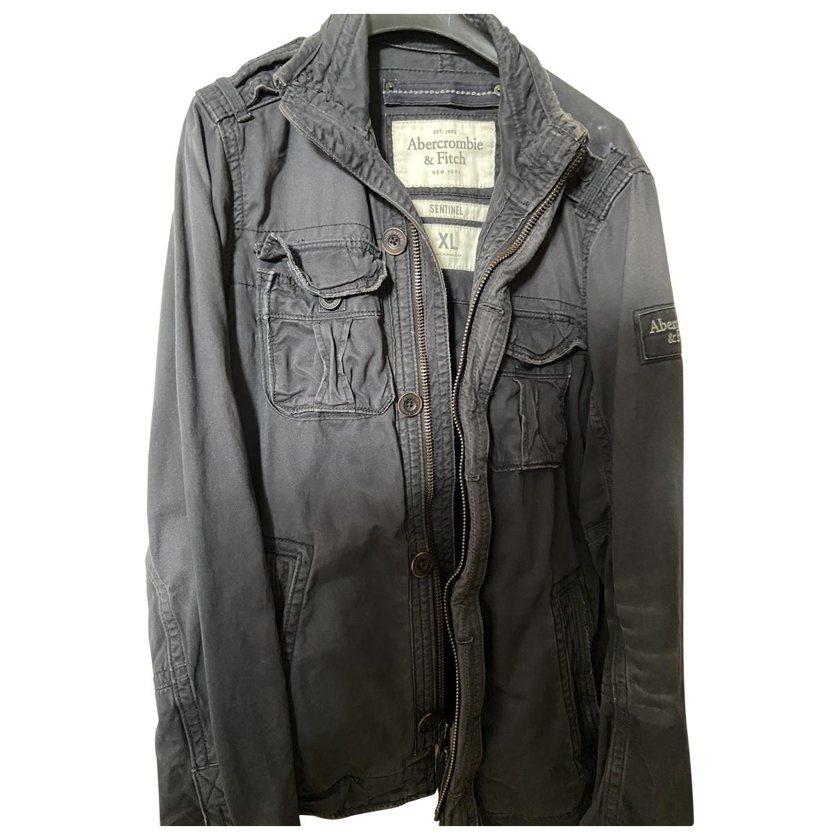 Abercrombie & Fitch \N Blue Cotton jacket  for Men XL International