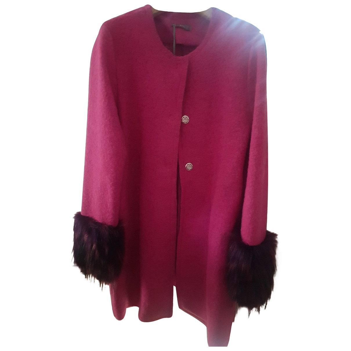 Non Signé / Unsigned \N Wool coat for Women S International