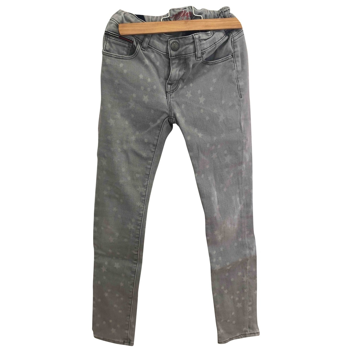 Tommy Hilfiger \N Grey Denim - Jeans Trousers for Kids 8 years - up to 128cm FR