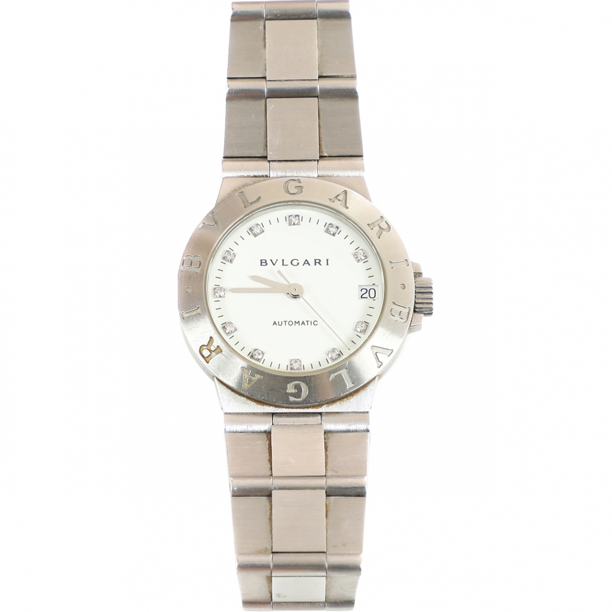 Bvlgari Bulgari Bulgari Silver Steel watch for Women \N