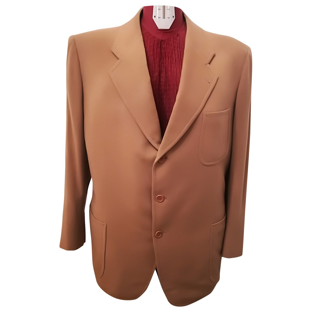 Non Signé / Unsigned \N Camel Cashmere jacket  for Men 50 IT