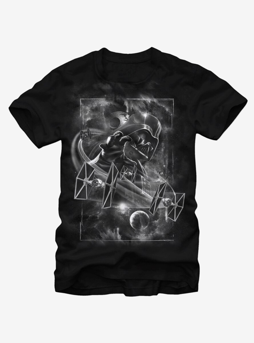 Star Wars TIE Fighter Darth Vader Choke T-Shirt