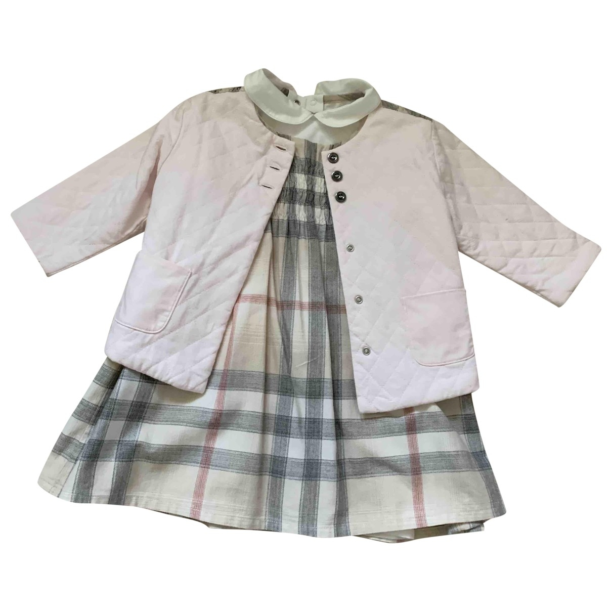 Burberry \N Pink Cotton Outfits for Kids 12 months - up to 74cm FR
