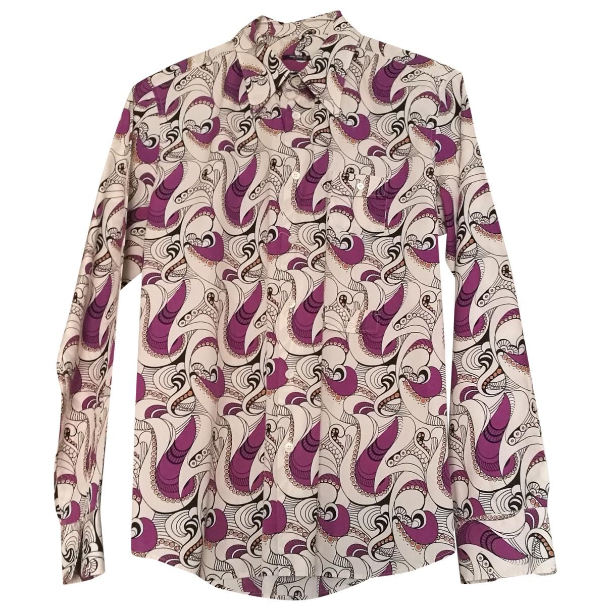 Miu Miu \N Multicolour Cotton Shirts for Men L International