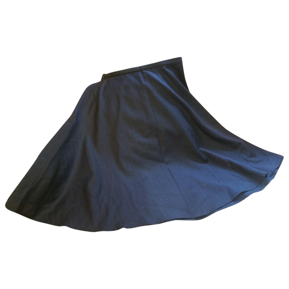 Etro \N Grey Wool skirt for Women 42 IT