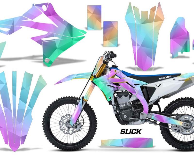 AMR Racing Dirt Bike Graphics Kit Decal Sticker Wrap For Suzuki RMZ450 2018+áSLICK