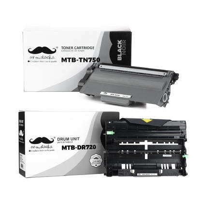 Compatible Brother MFC-8710DW Toner and Drum Cartridges Combo