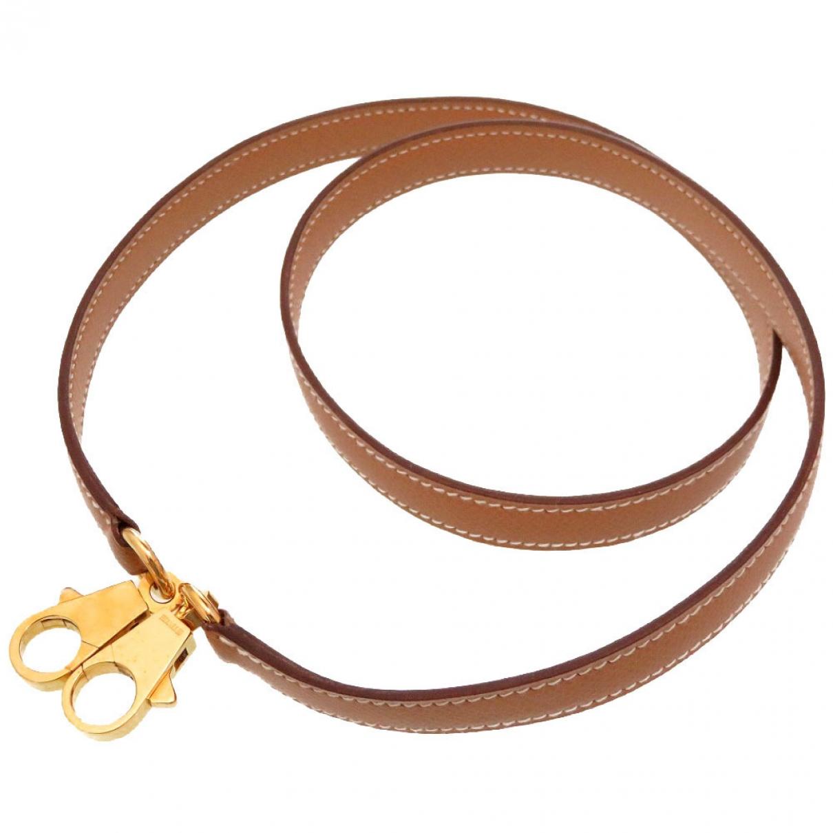 Hermès \N Camel Leather Purses, wallet & cases for Women \N