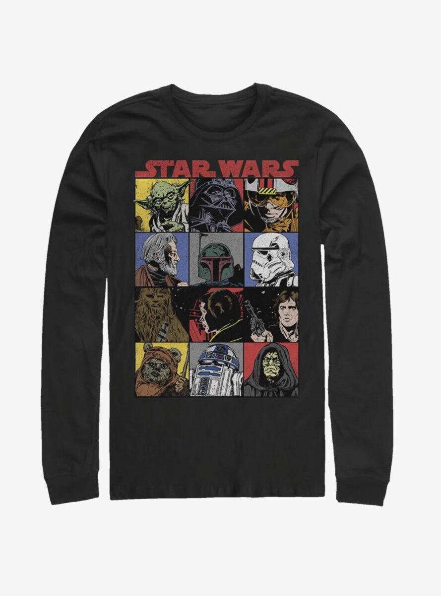Star Wars Comic Art Long-Sleeve T-Shirt