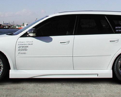 Hippo Sleek hp-leg-ss Subaru BP5 Legacy Side Skirts