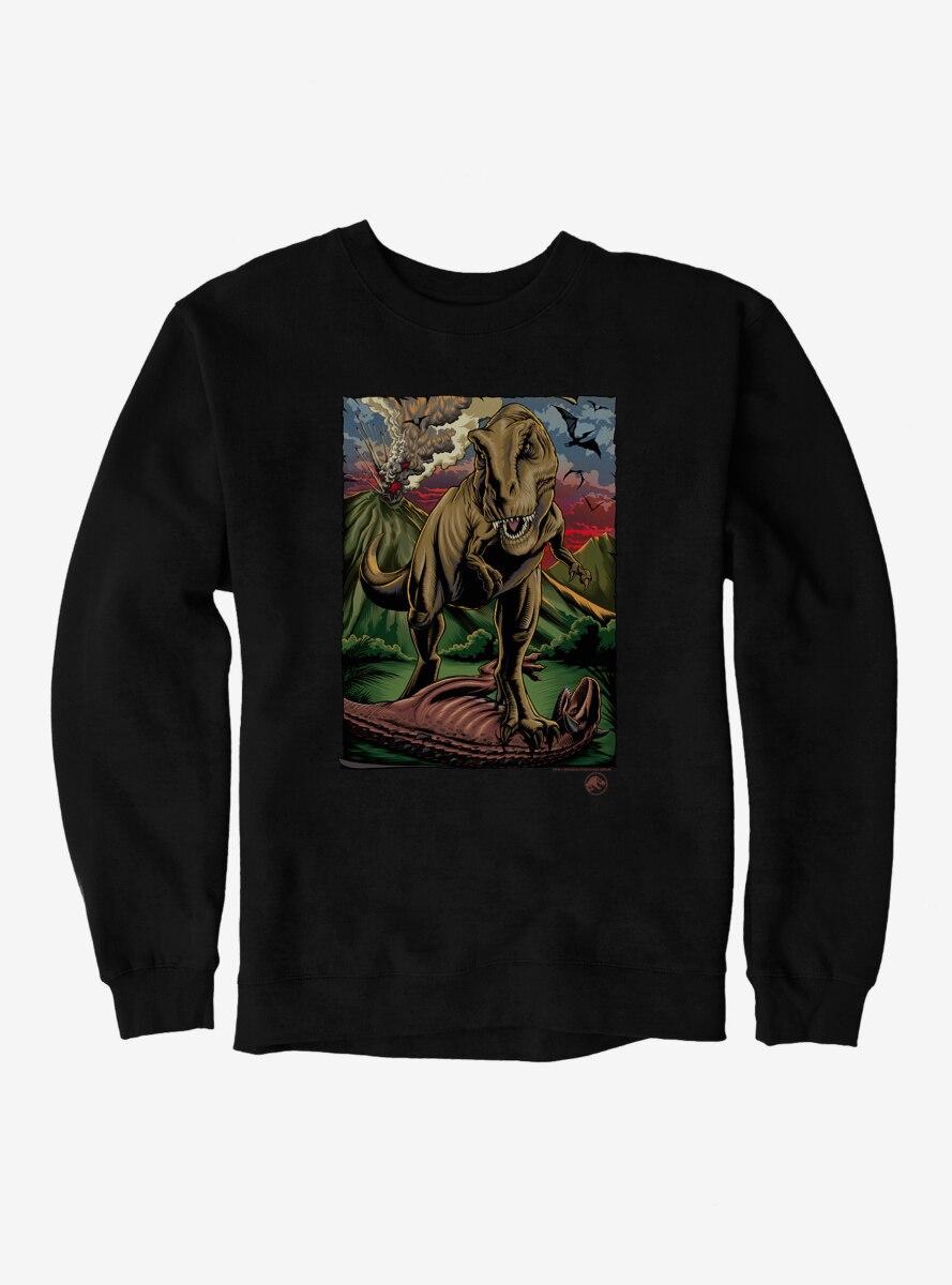 Jurassic World Volcano Explosion Sweatshirt