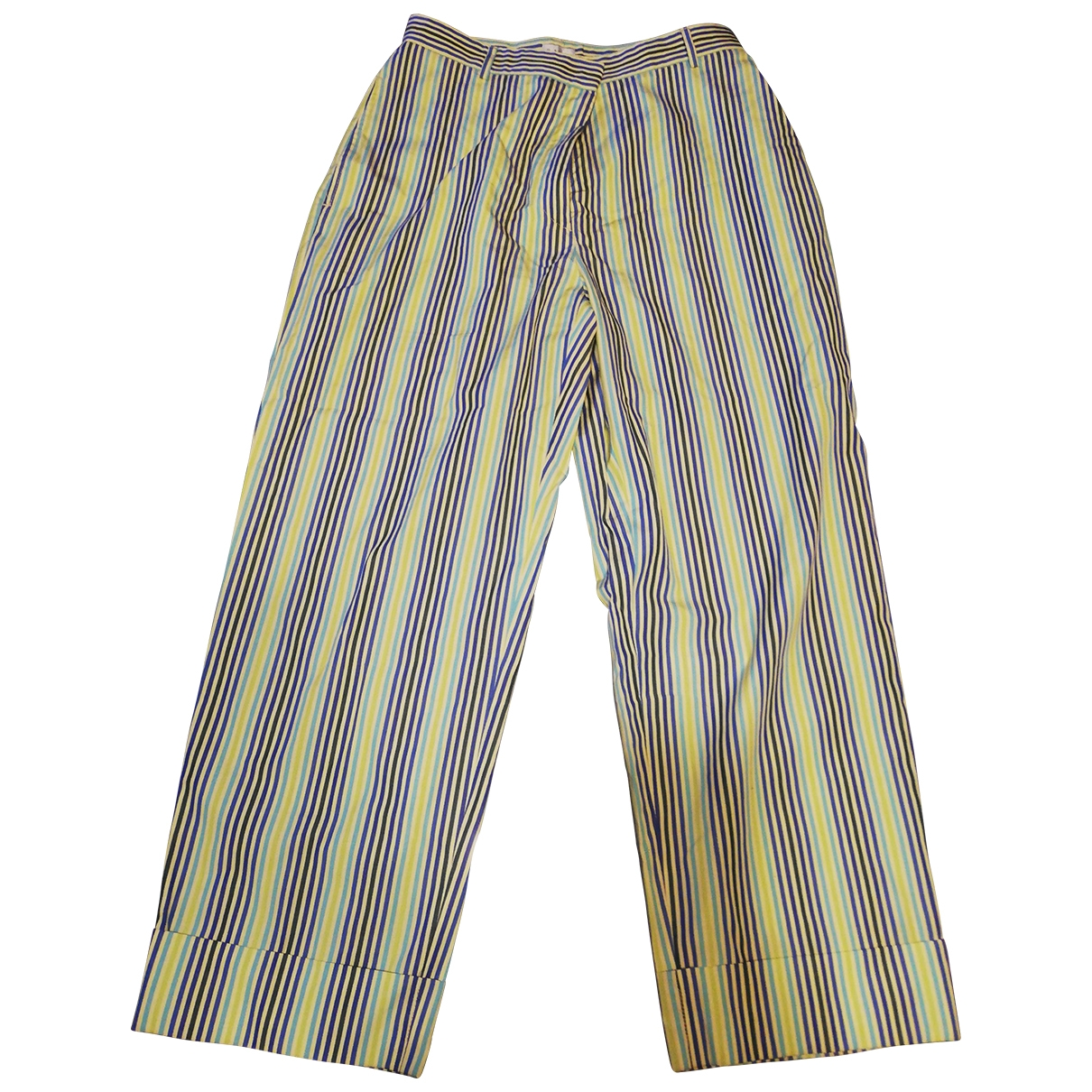 Paul Smith \N Multicolour Cotton Trousers for Women 44 IT