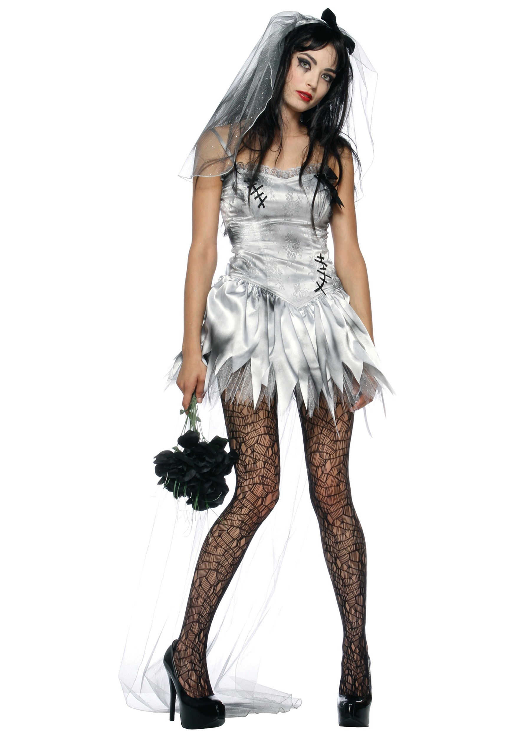 Zombie Bride Sexy Costume For Adults