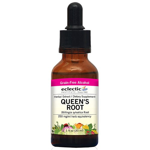 Queen's Root 2 Oz with Alcohol by Eclectic Institute Inc