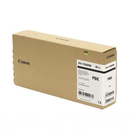 Canon PFI-1700 0775C001AA cartouche d'encre originale noire photo pigment