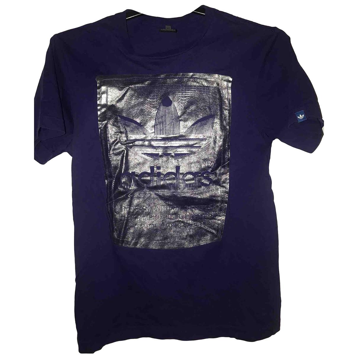 Adidas \N Purple Cotton T-shirts for Men XS International