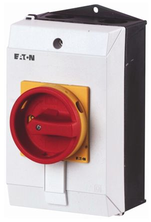 Eaton 1 Pole Enclosed Non Fused Isolator Switch - 10 A dc, 20 A ac Maximum Current, 7.5 kW Power Rating, IP65