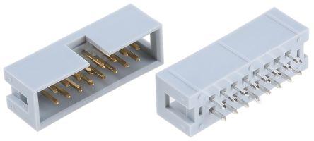 ASSMANN WSW , AWHW, 16 Way, 2 Row, Straight PCB Header (5)