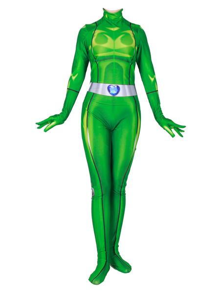 Milanoo Disney Totally Spies Alexandra Cosplay Costume