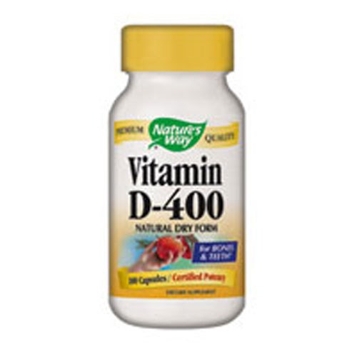 Vitamin D Dry 100 Caps by Nature's Way