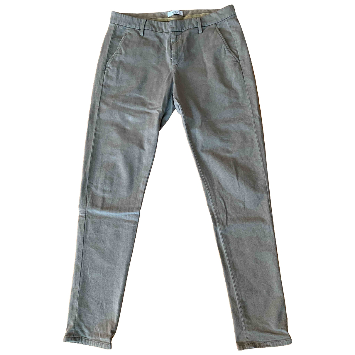 Dondup \N Grey Cotton Trousers for Men L International