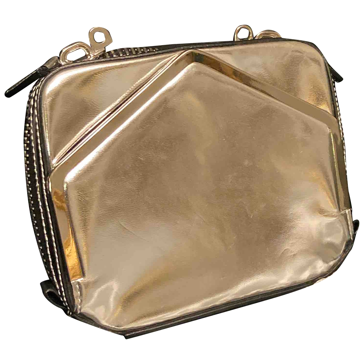Alexander Wang \N Silver Leather Clutch bag for Women \N