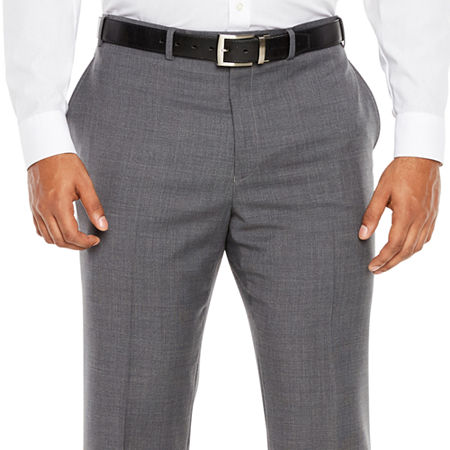 Collection by Michael Strahan Mens Suit Pants - Big and Tall, 52 30, Gray
