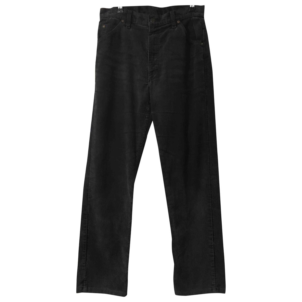 Levi's \N Black Cotton Trousers for Men 32 UK - US