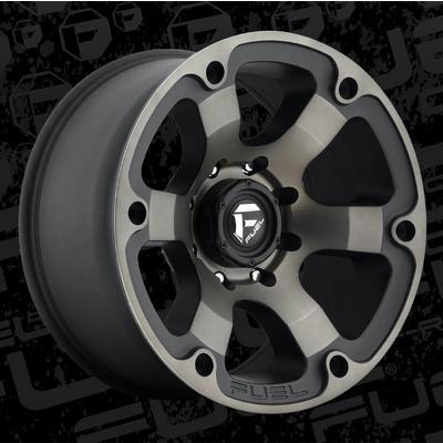 MHT Fuel Offroad D564 Beast, 20x10 Wheel with 8 on 170 Bolt Pattern - Black Machined Dark Tint - D56420001747