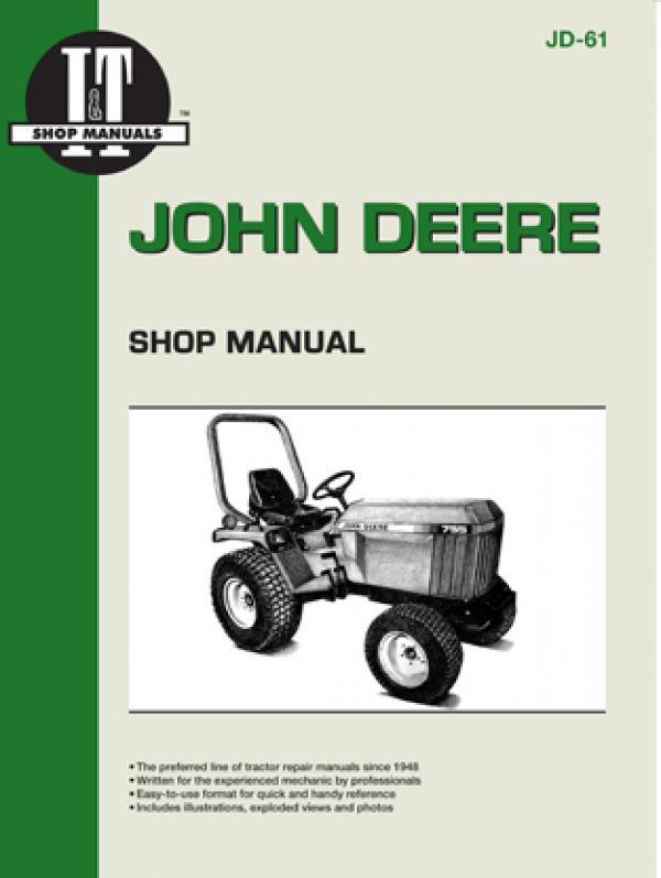 John Deere Model 655-955 Tractor Service Repair Manual